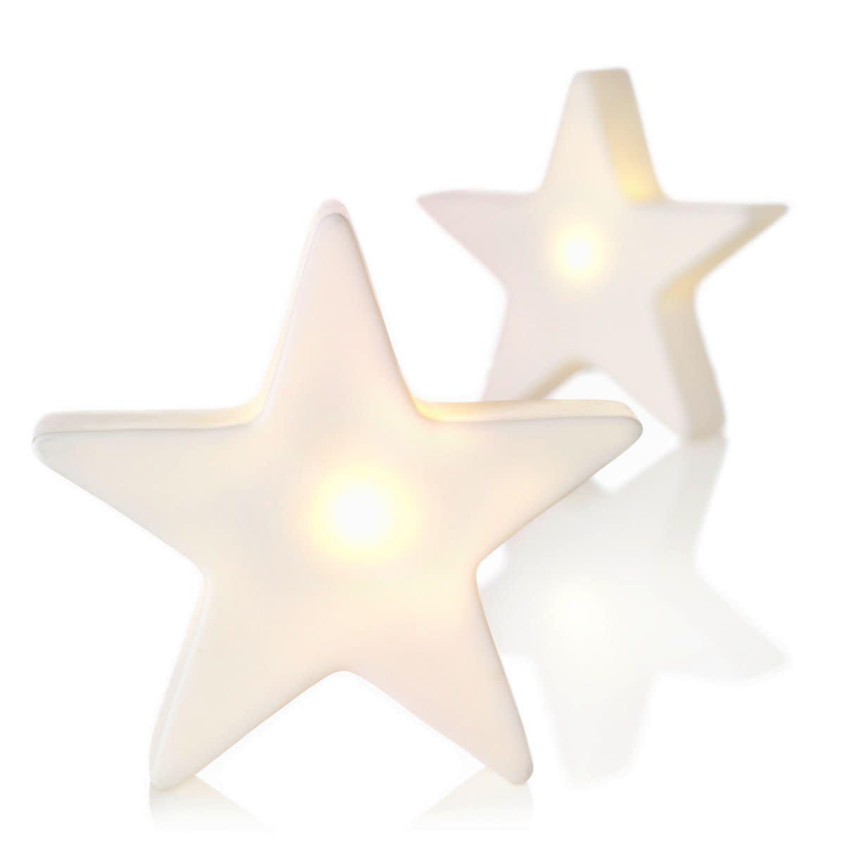 Leuchtfiguren-Set, 2-tlg., LED, Kunststoff (Impressionen)