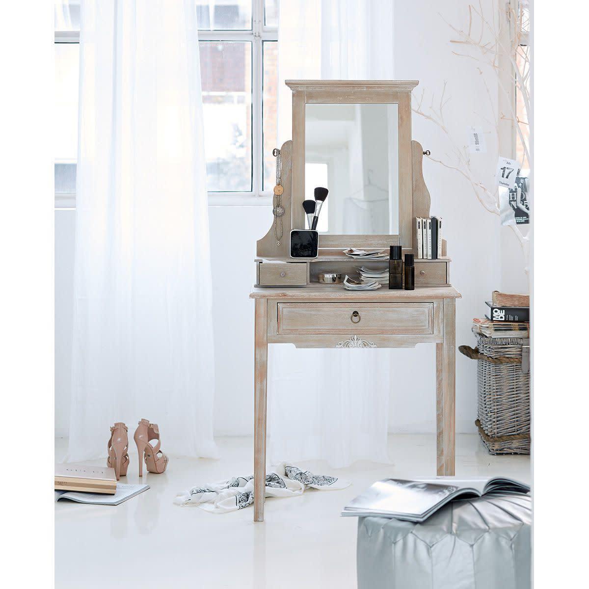 schminktisch mit spiegel g nstig kaufen. Black Bedroom Furniture Sets. Home Design Ideas