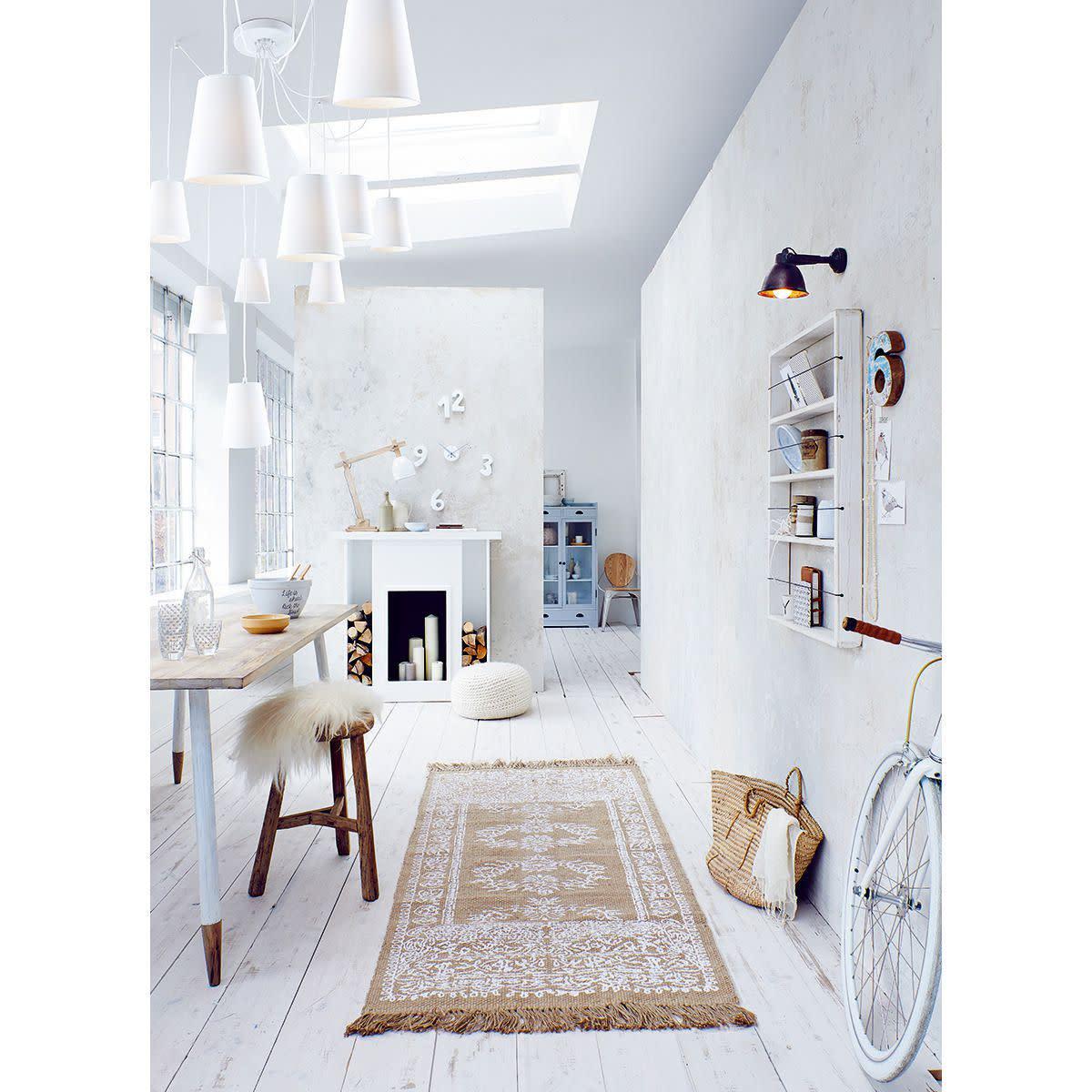 Teppich, Ornamente, Jute (Impressionen)
