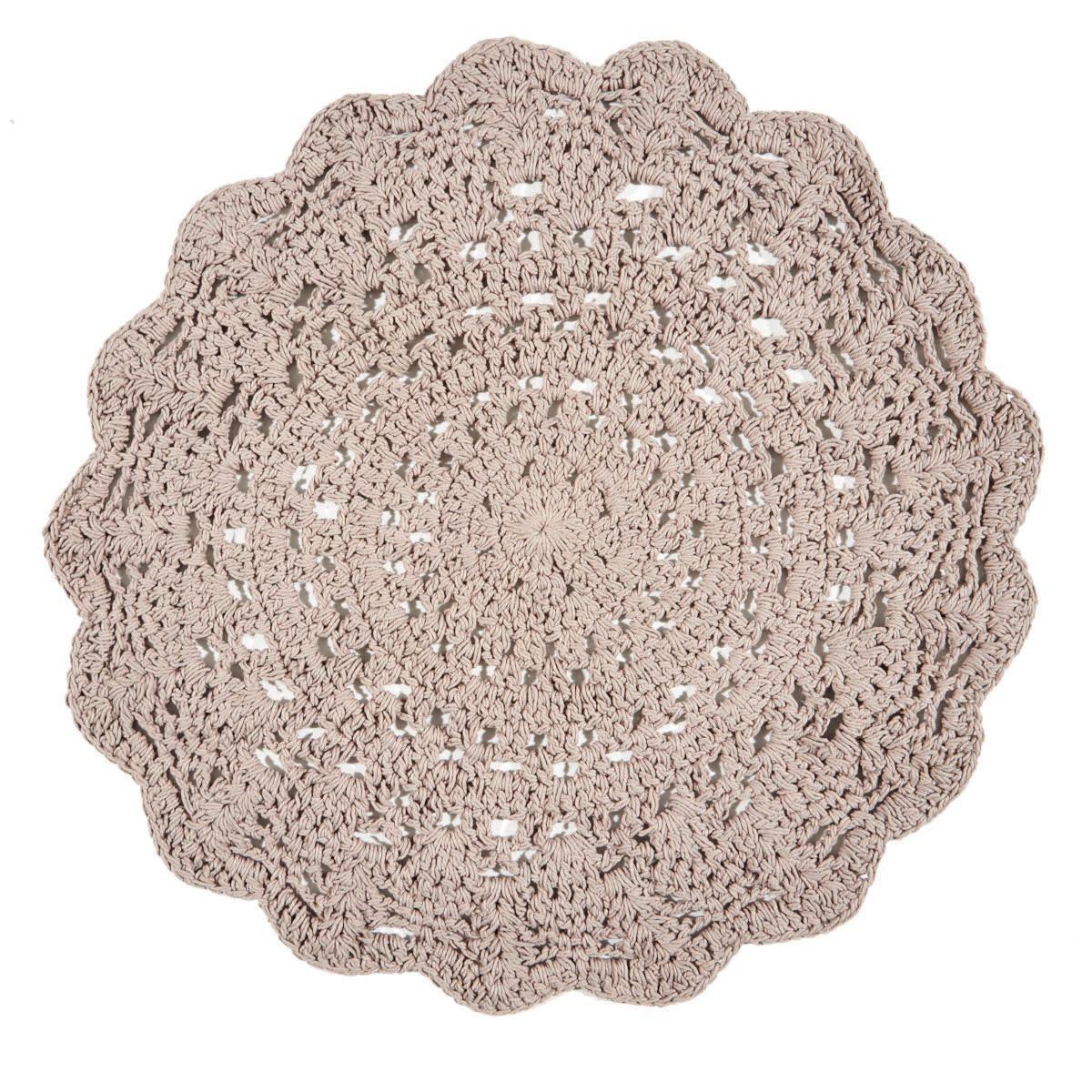 Teppich, Häkeloptik, Baumwolle (Impressionen)