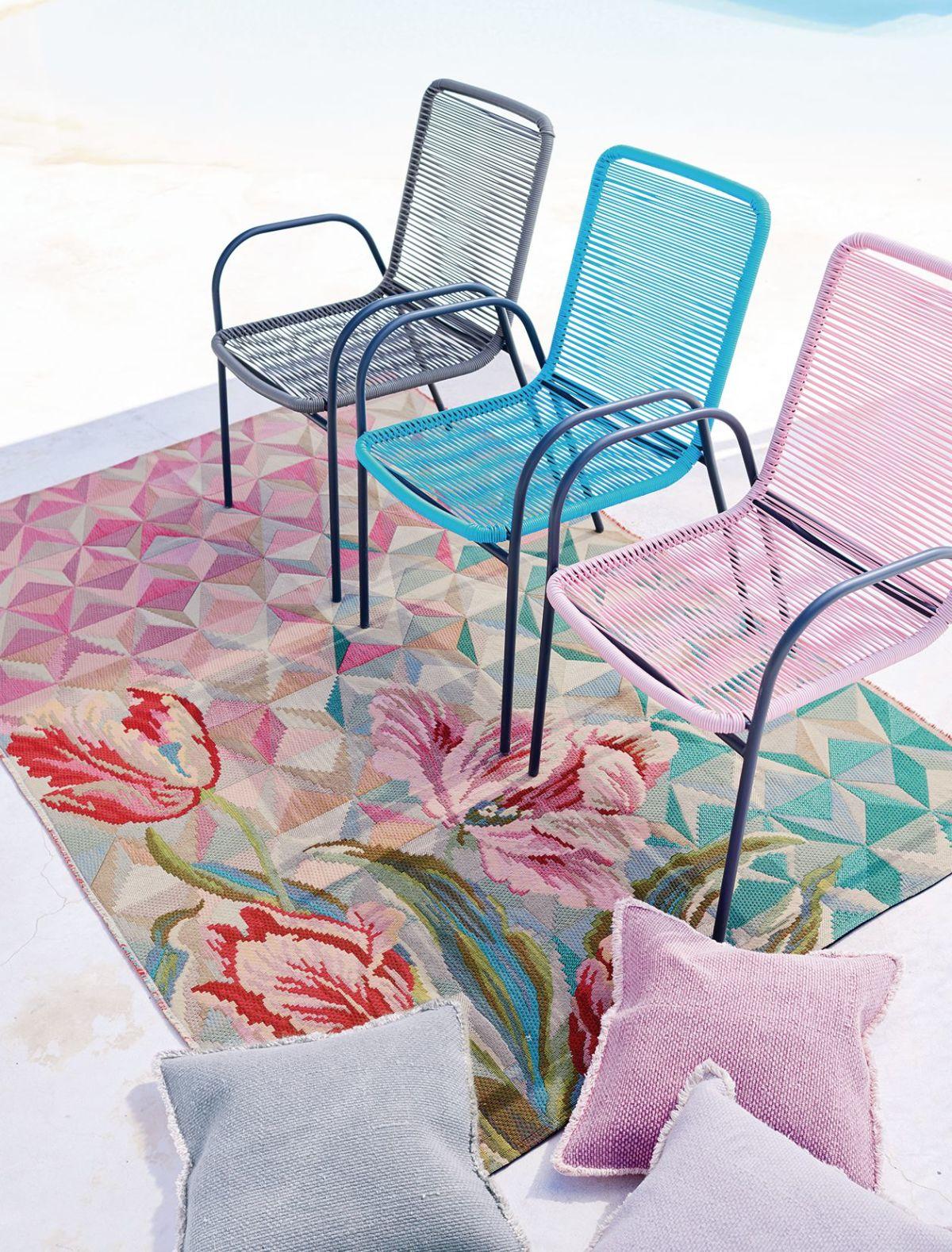 Stuhl, outdoorgeeignet, Stahl, Kunststoff (Impressionen)