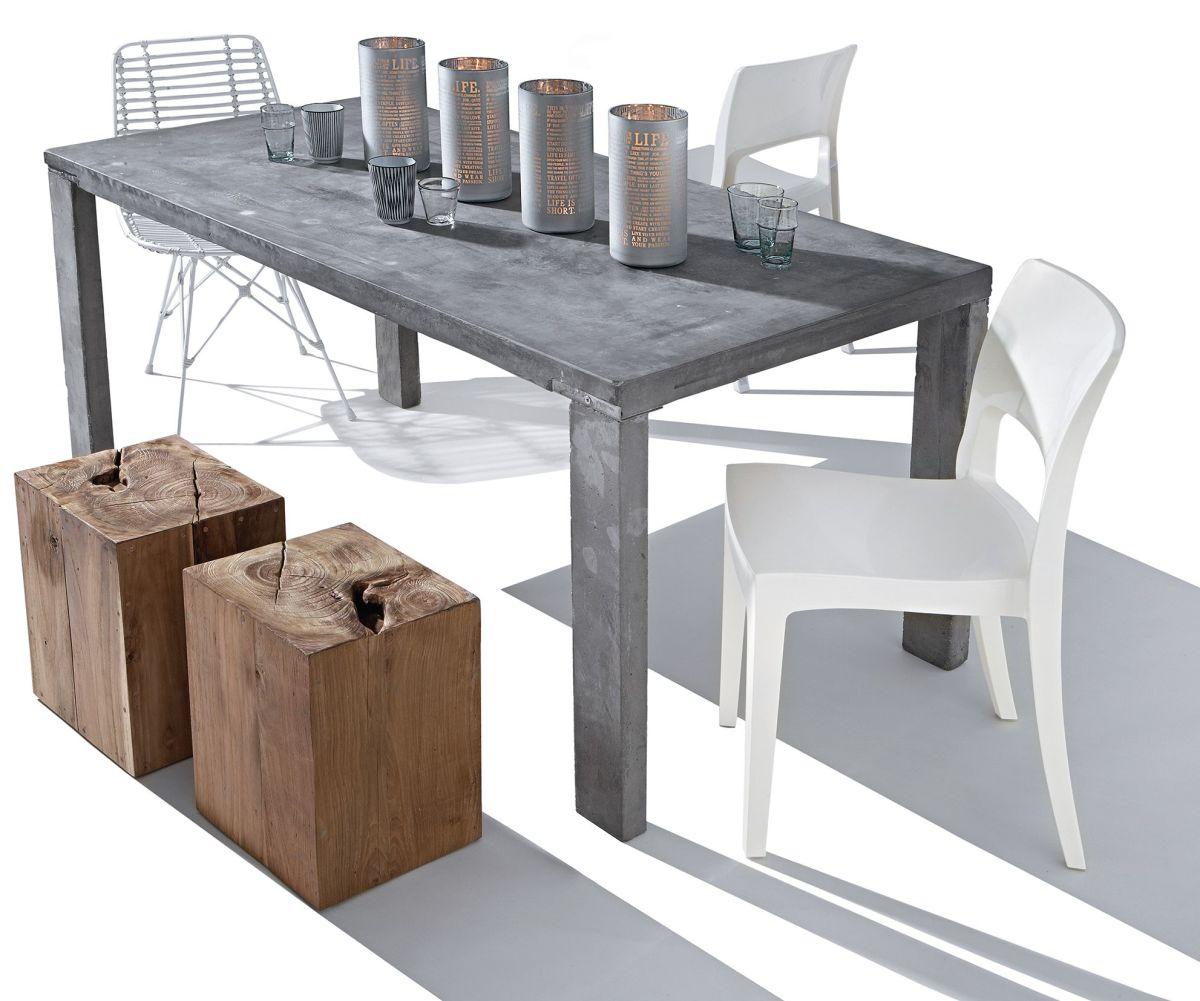 Hocker, recyceltes Holz (Impressionen)