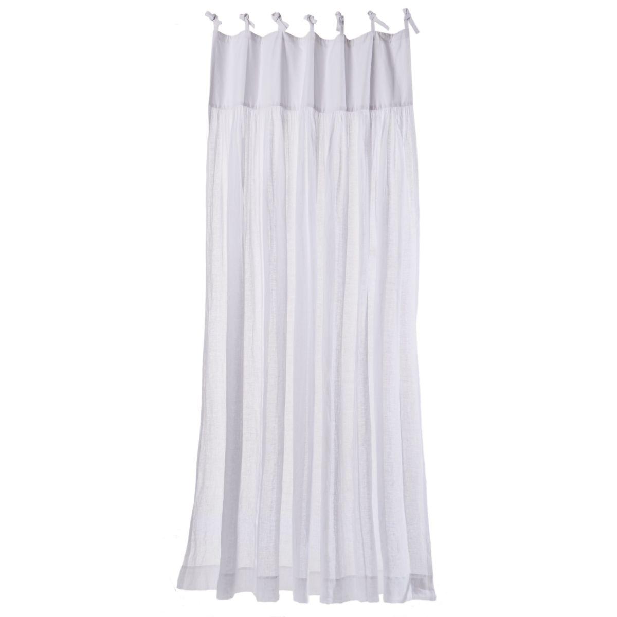 Leinenvorhang, transparent, Schlaufen (Impressionen)