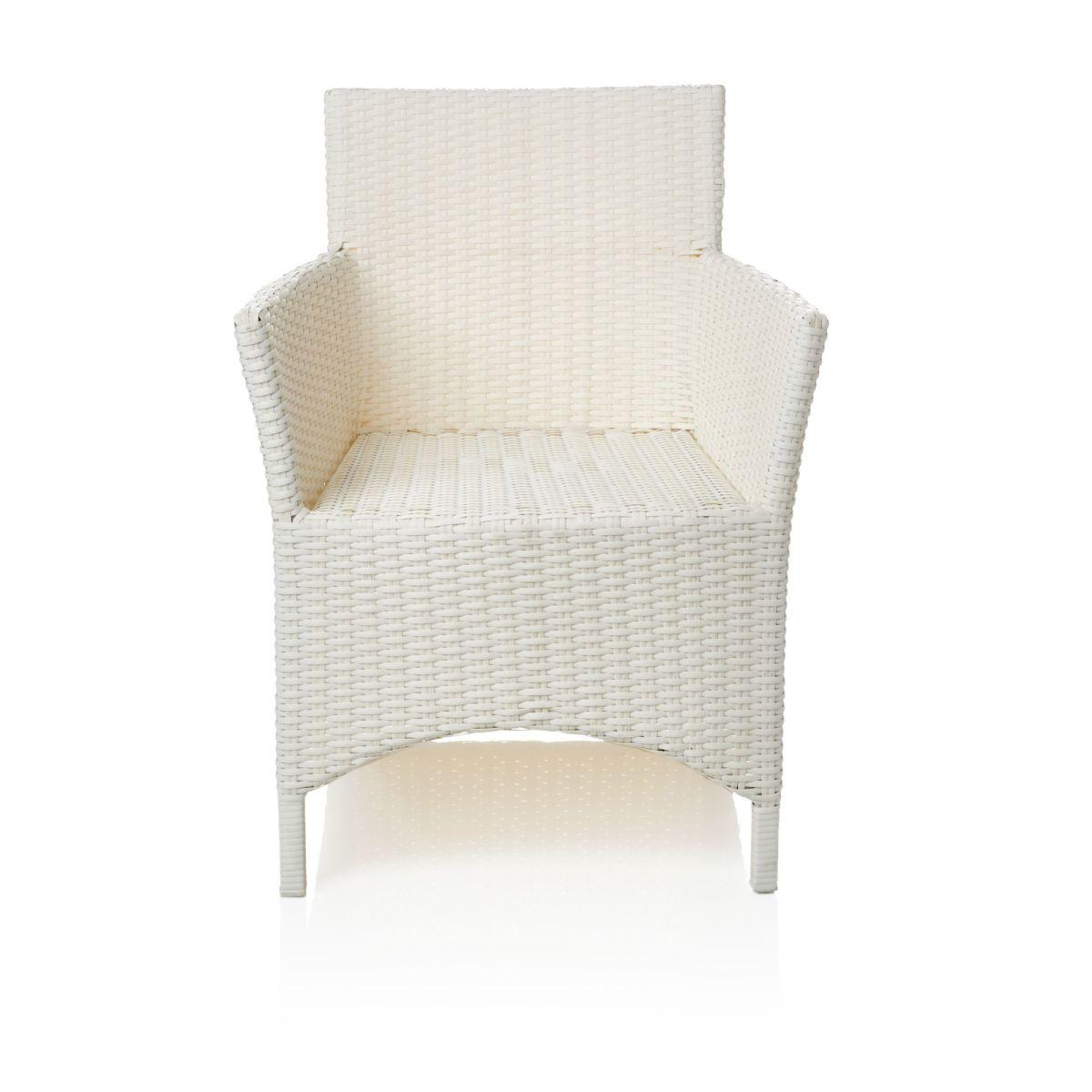 Outdoor-Armlehnstuhl, inkl. Auflagen, Kunststoffgeflecht (Impressionen)