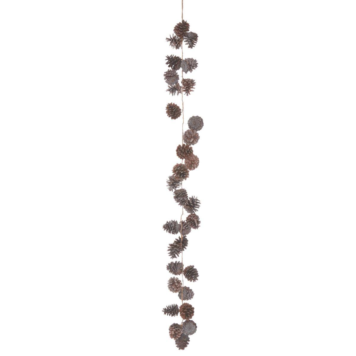 Zapfen-Girlande, Shabby Chic, Tannenzapfen (Impressionen)