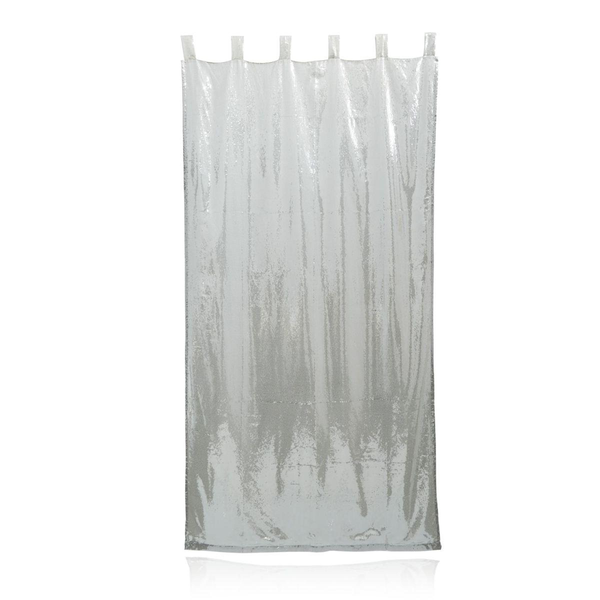 Paillettenvorhang, Schlaufen, glamourös (Impressionen)