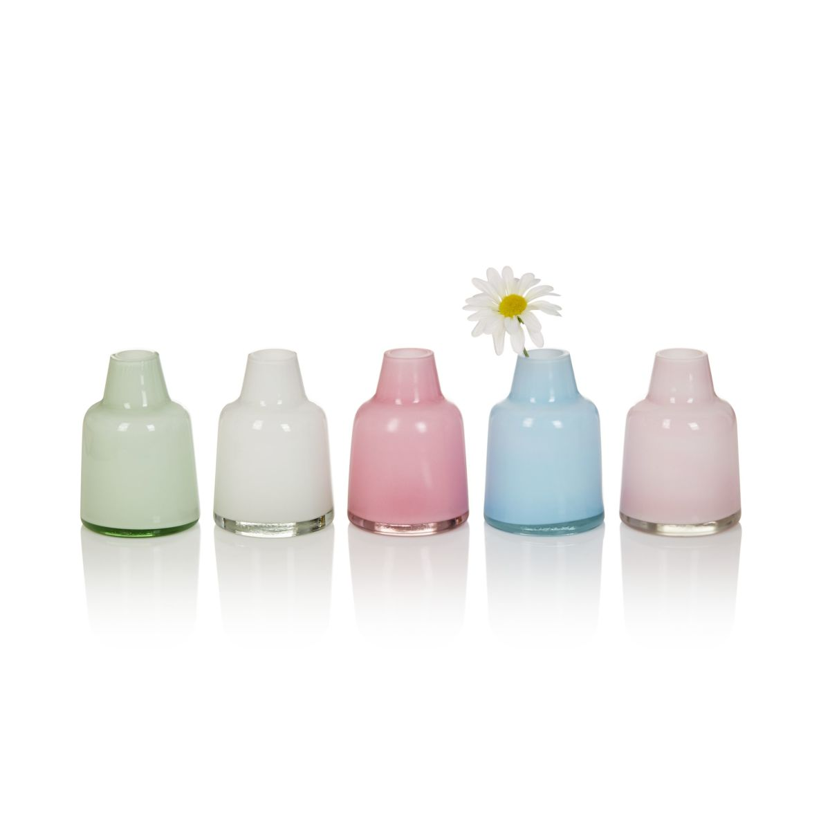 Vasen-Set, 5-tlg., Wasserdicht, Glas