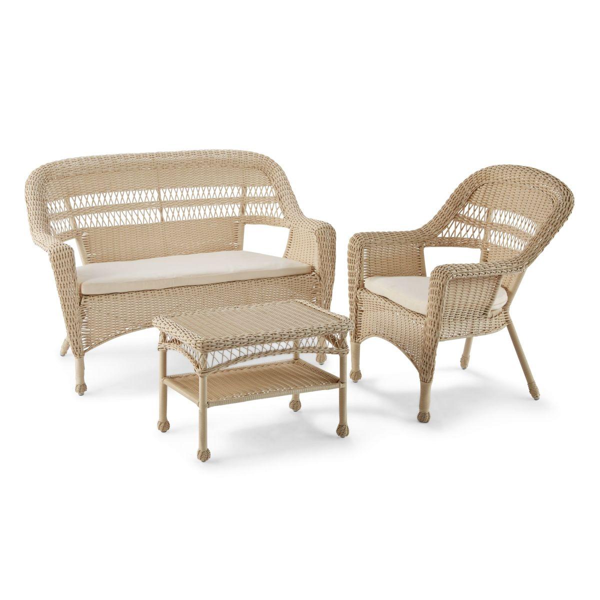 Gartenmöbel-Set, 4-tlg. Lavy