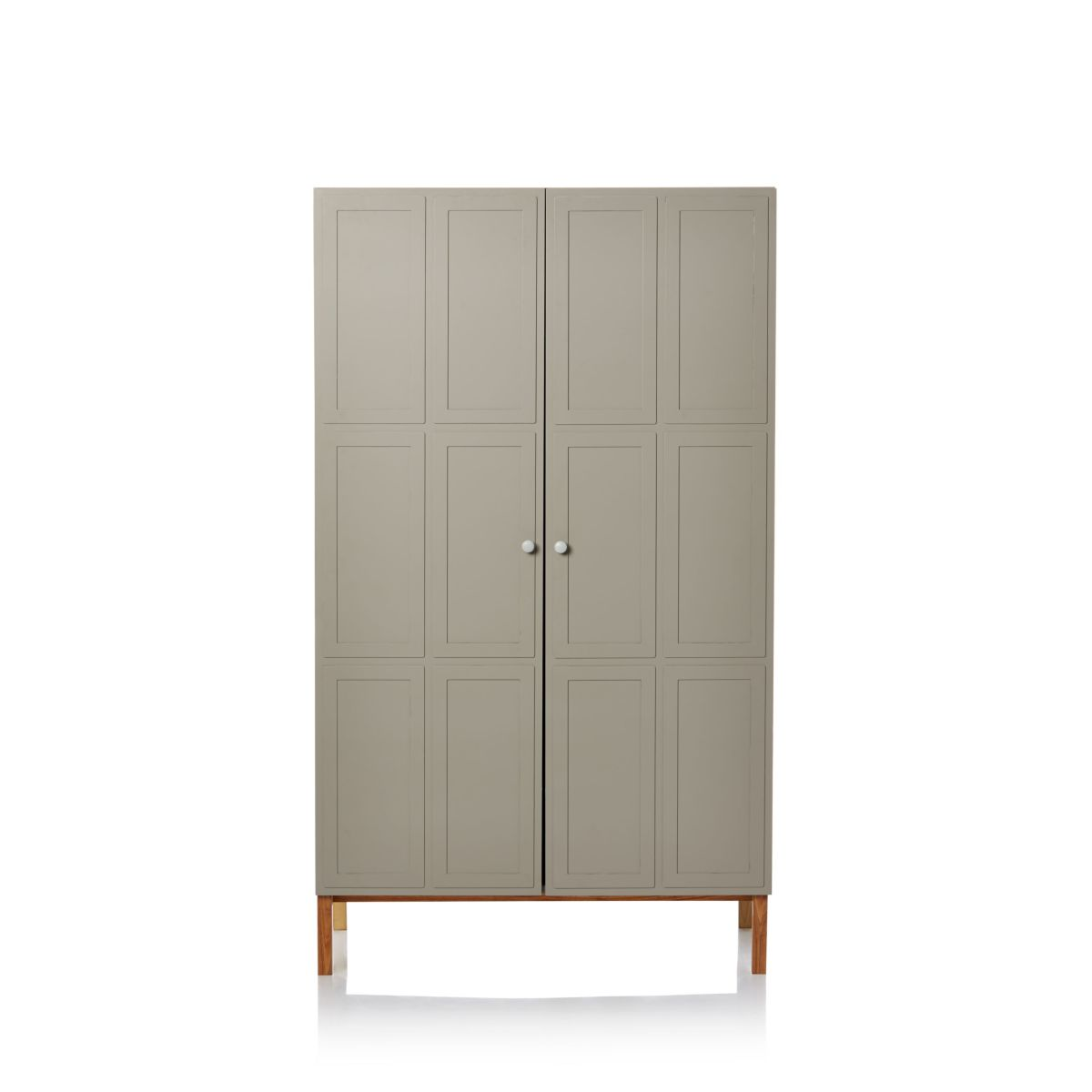 Kleiderschrank, inkl. 1 Kleiderstange, 1 Einlegeboden, Clean chic
