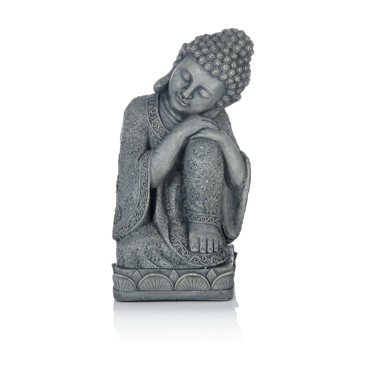 Buddha, verträumt, Beton