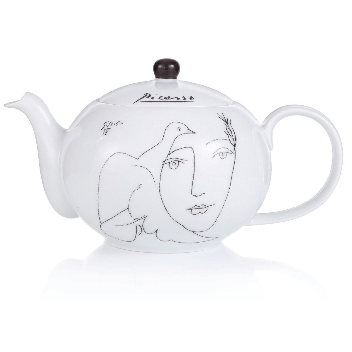 Teekanne, mit Picasso Print