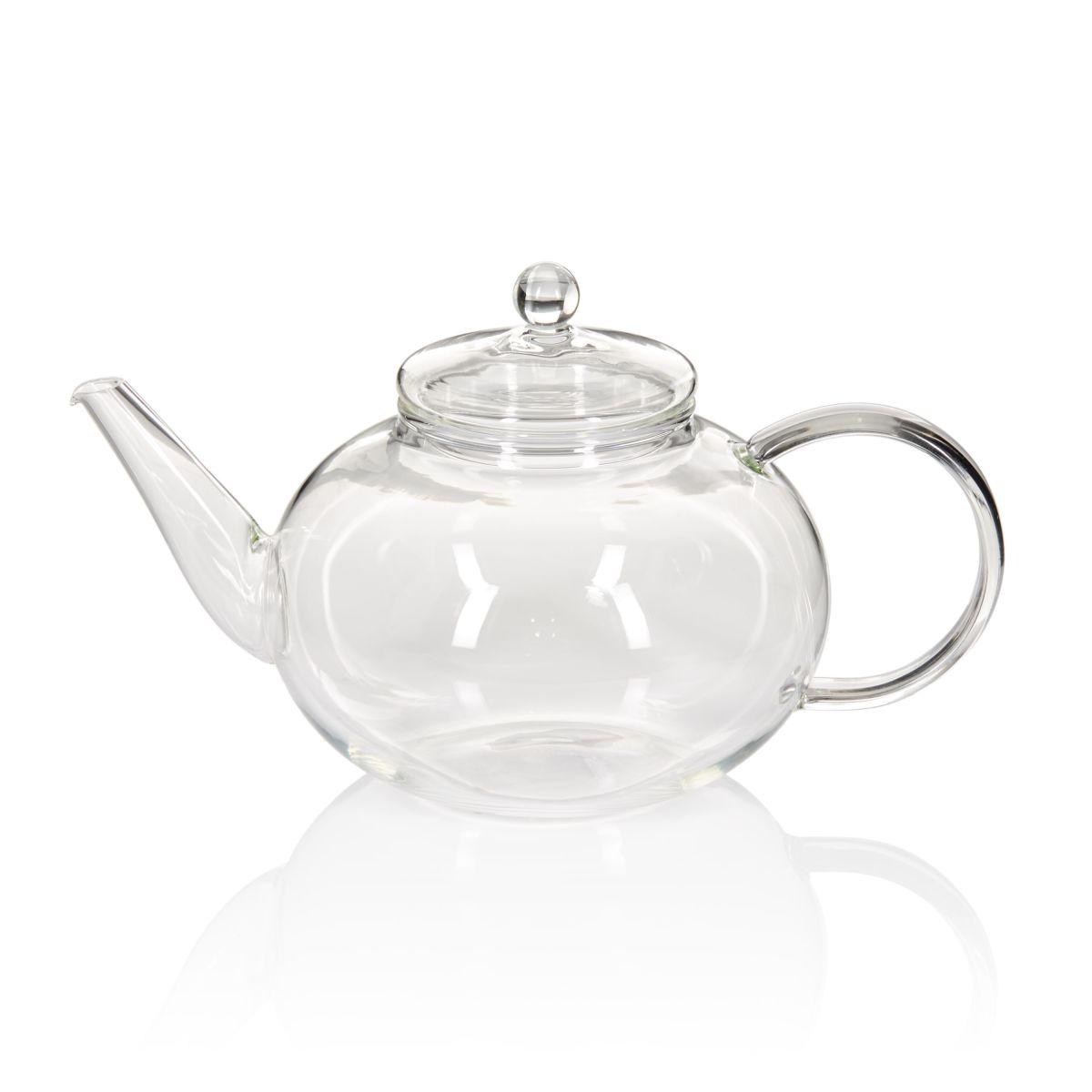 Teekanne, transparent, klassisch, Glas