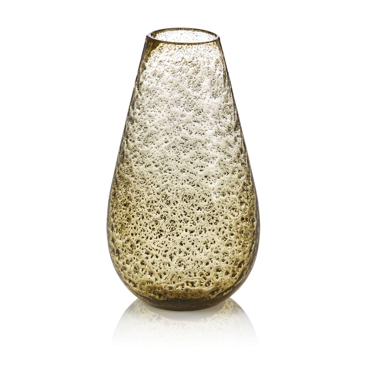 Vase, Einschlüsse, klassisch, Glas