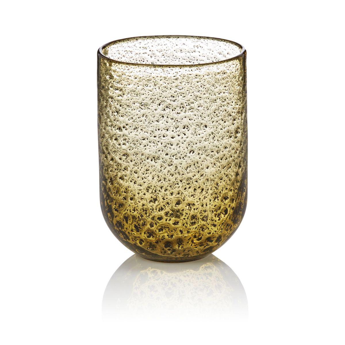 Vase, Einschlüsse, modern, Glas
