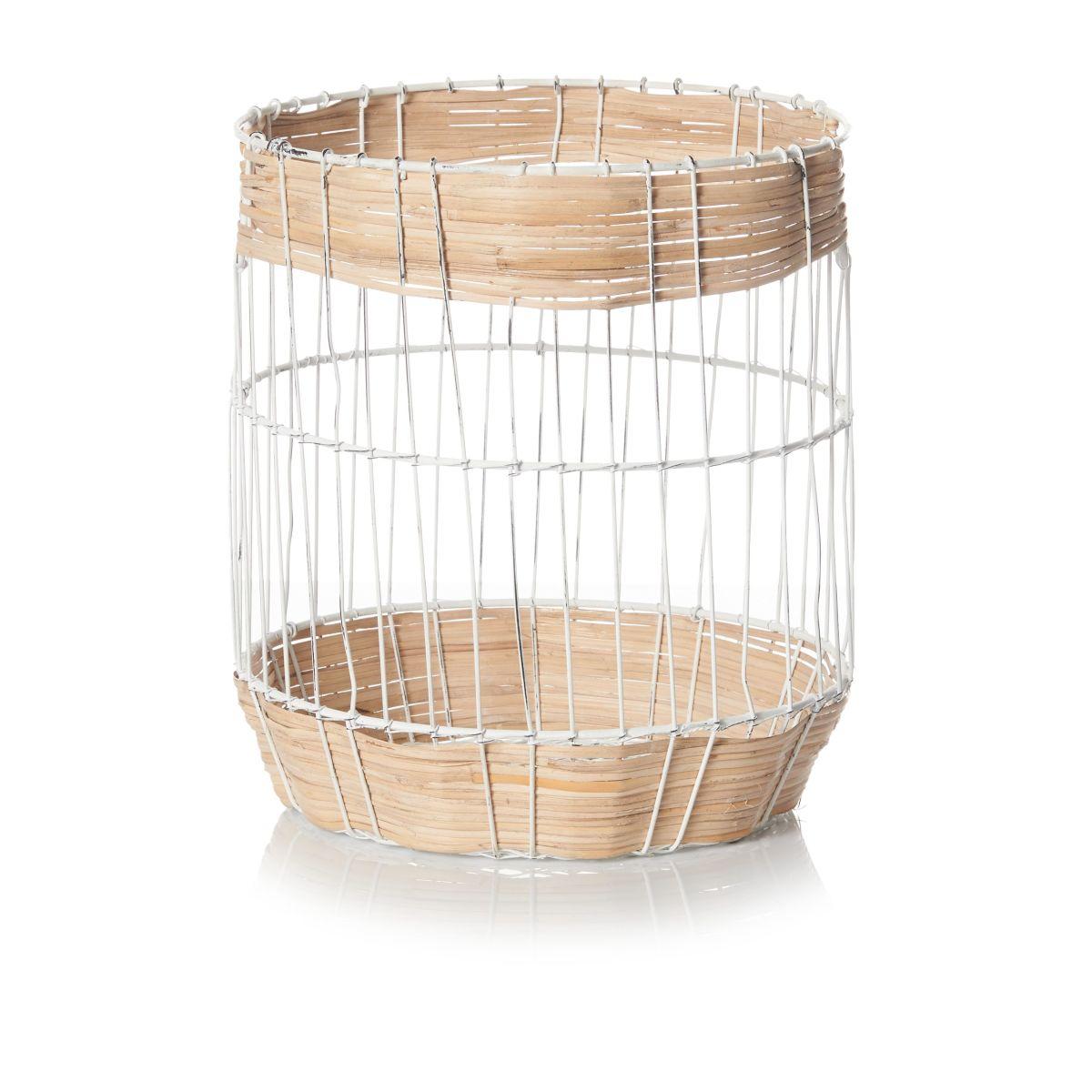 Korb, Materialmix, skandinavisch
