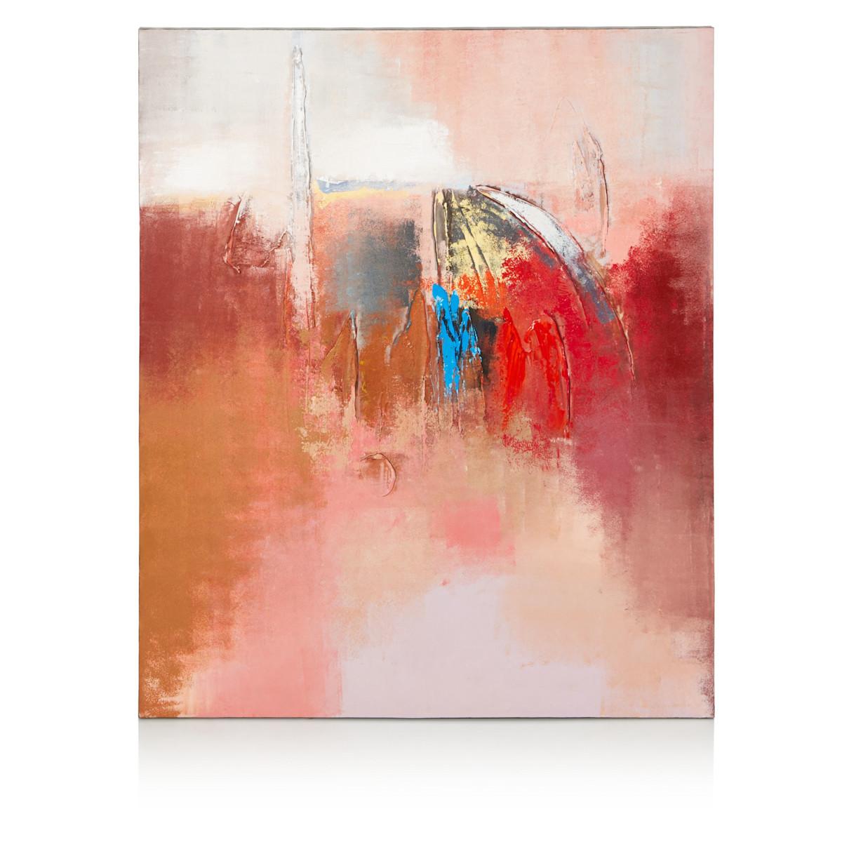 Artikel klicken und genauer betrachten! - Abstrakte Farbflächen und Pinselstriche an der Vorderseite. Konkreter Pluspunkt an der Rückseite: die Aufhängevorrichtung. Handarbeit, Maße: ca. L 100 x B 120 x T 4 cm, Gewicht: ca. 3,3 kg, Material: Holz, Canvas. | im Online Shop kaufen