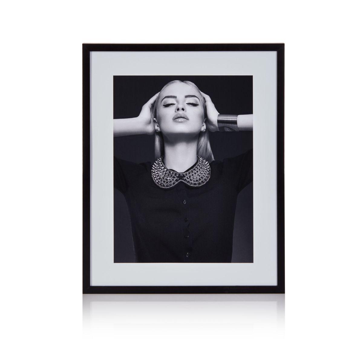 Wandbild 40x50 cm, Foto, schwarz-weiß