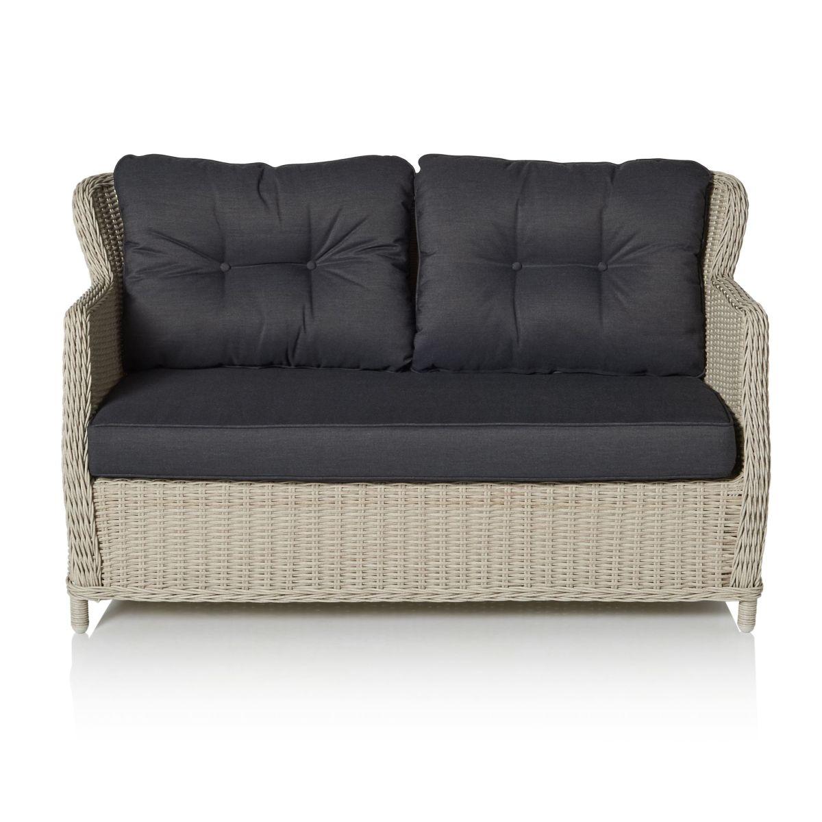Outdoor-Sofa, inkl. Auflagen