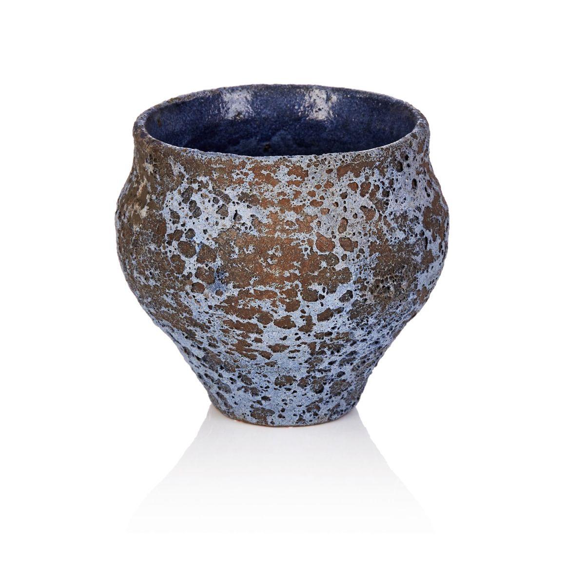 Deko-Topf, rustikal, Keramik