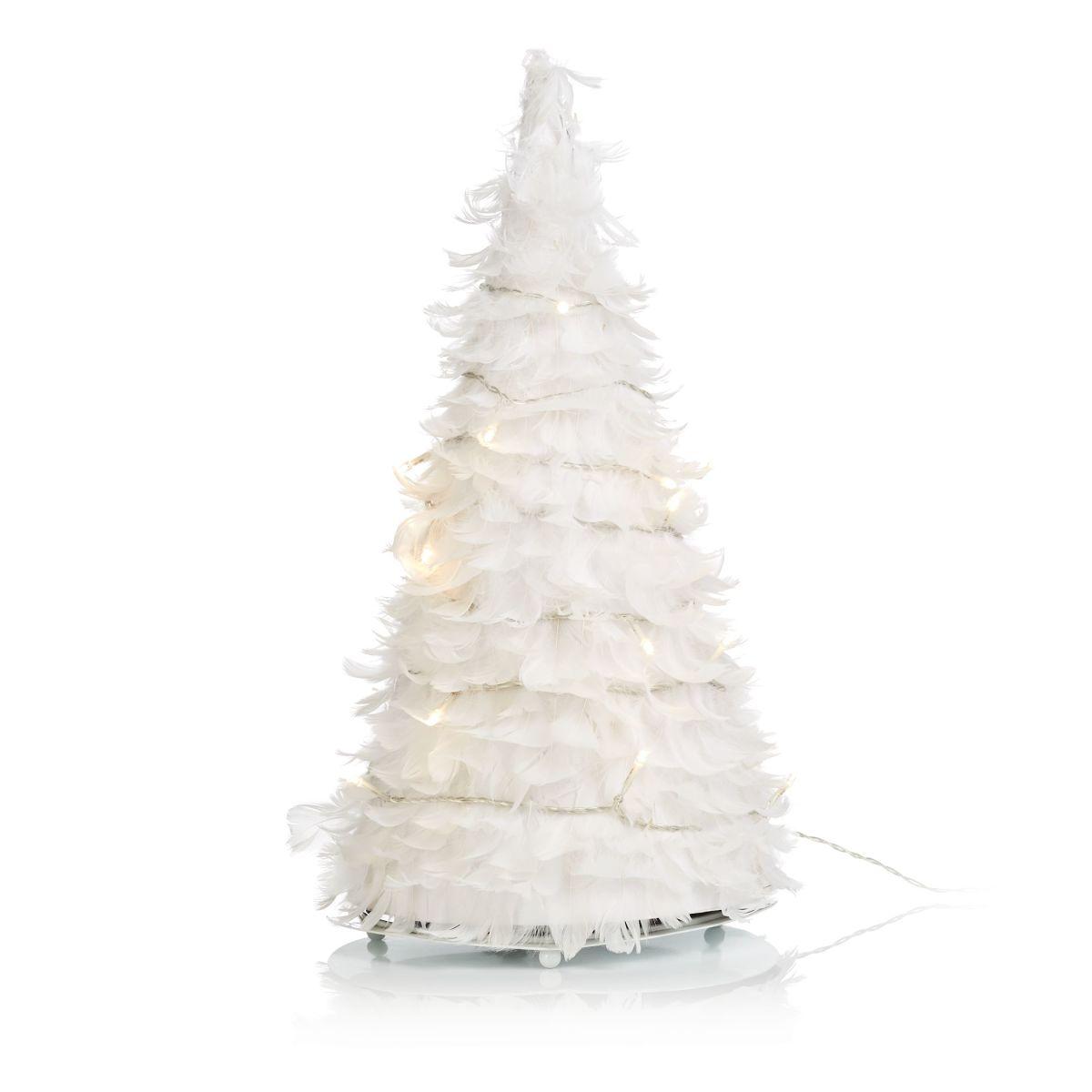 Weihnachtsbaum, LED, Federn (Impressionen)