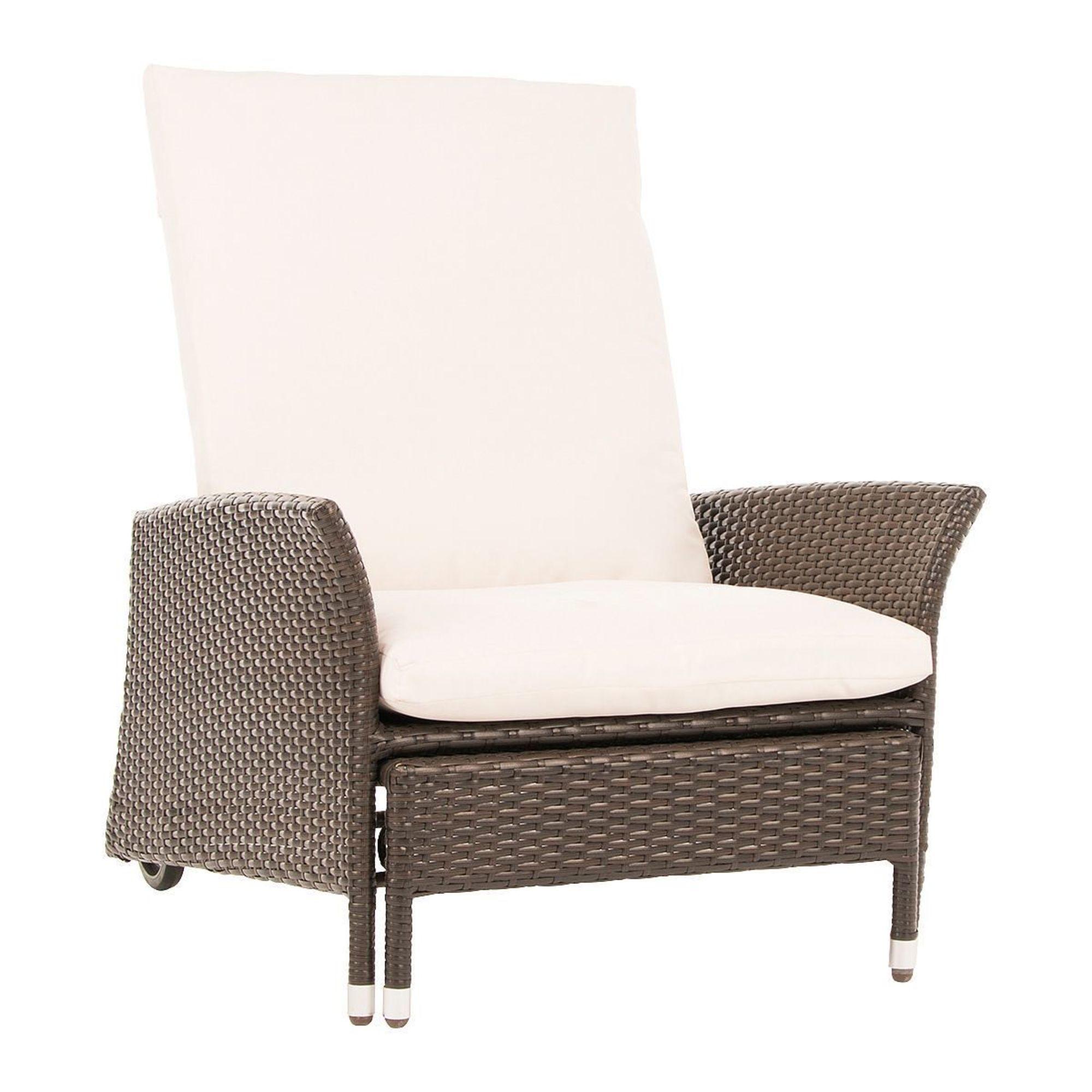 Cool Gartenstuhl Komfort, 5-fach verstellbare Rückenlehne, Kunstrattan QL24
