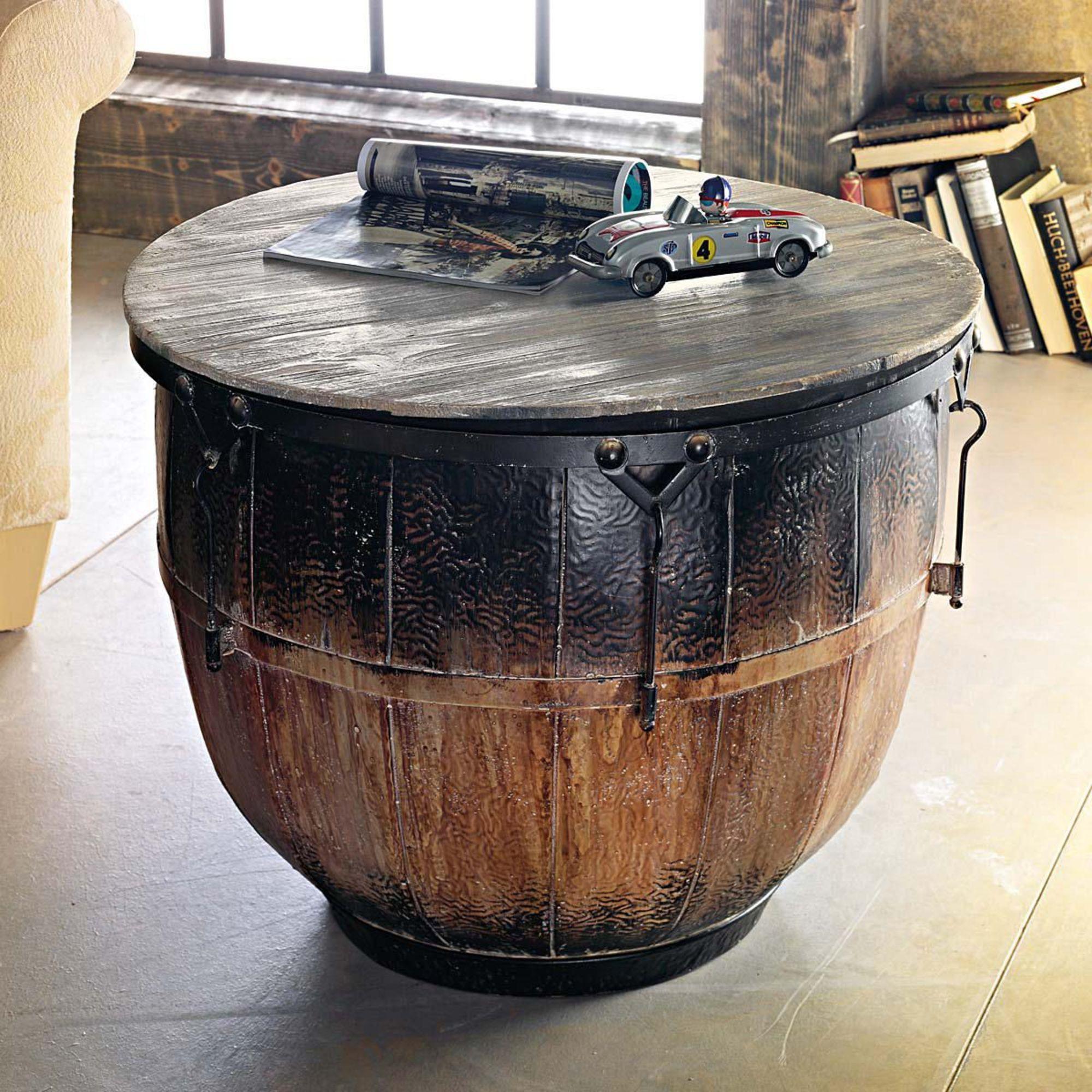 Couchtisch bambam wohnzimmertisch industrial chic design for Wohnzimmertisch ebay