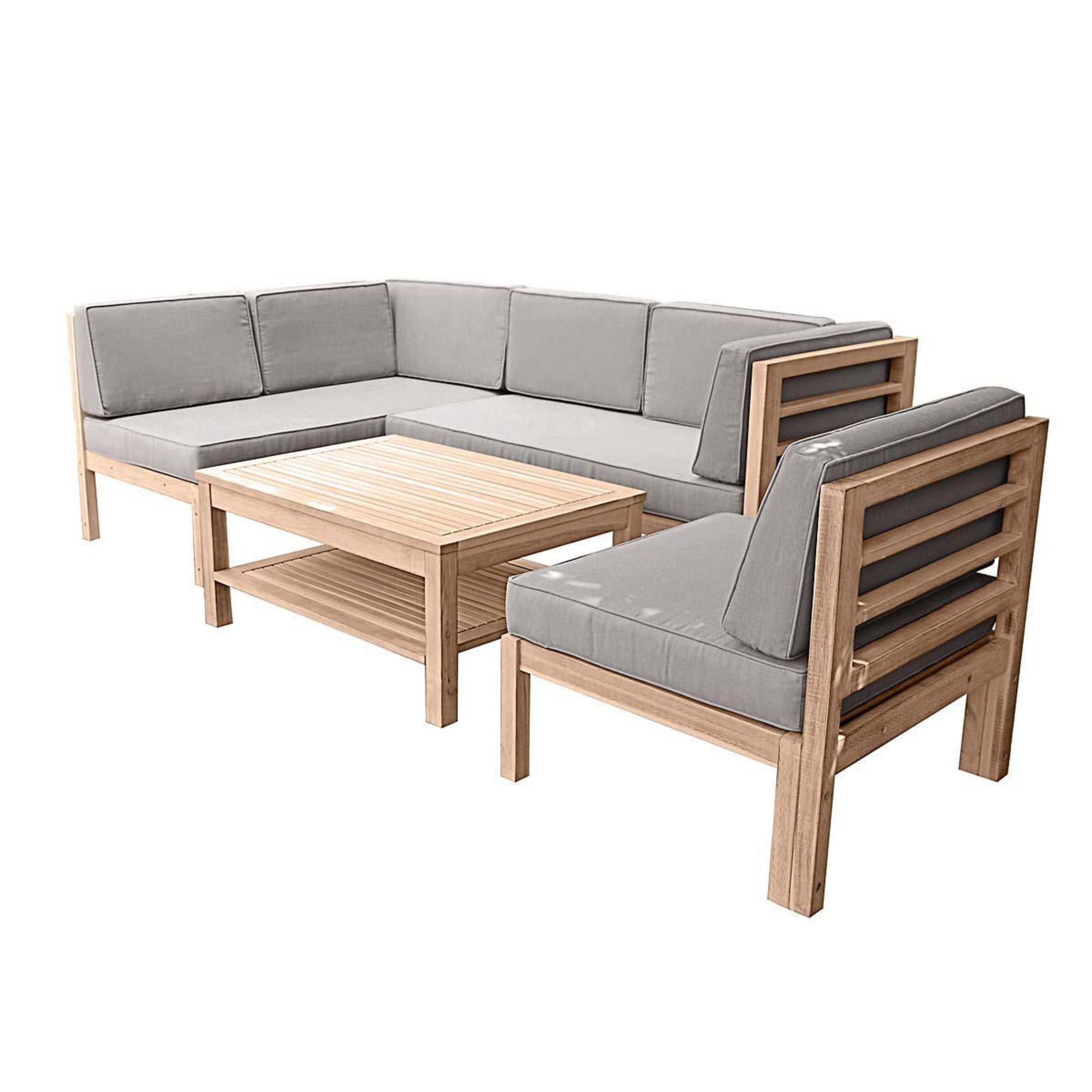Gartenmöbel Set Lounge Holz sdatec.com