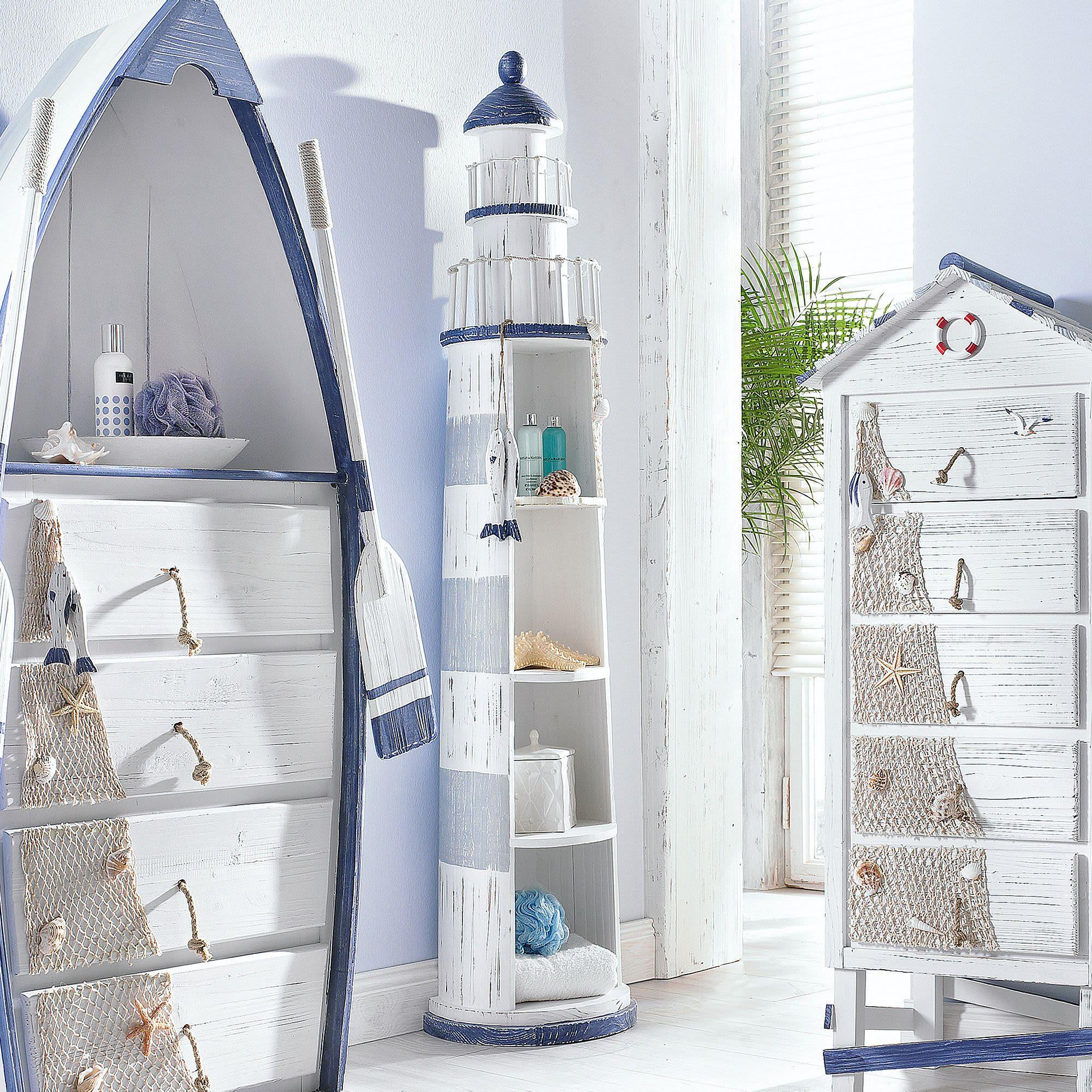 maritimes badezimmer. Black Bedroom Furniture Sets. Home Design Ideas