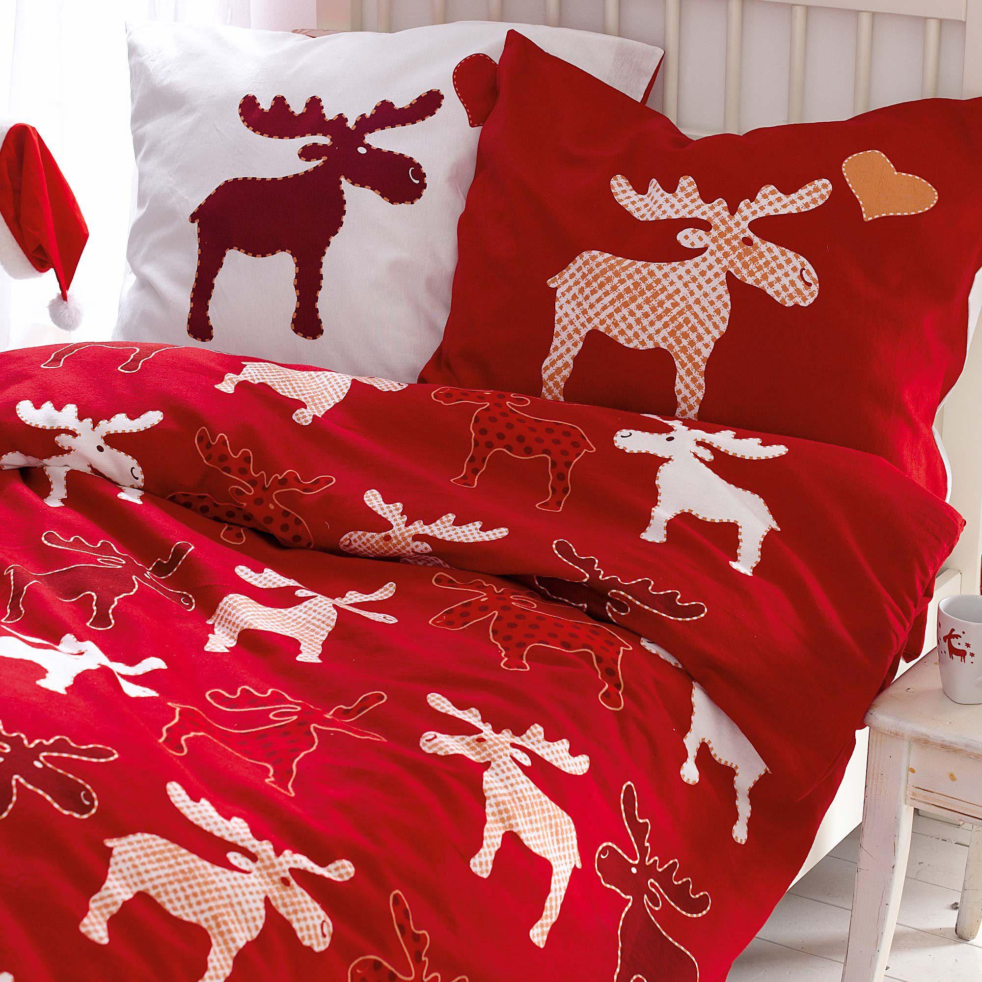 bettw sche elch my blog. Black Bedroom Furniture Sets. Home Design Ideas