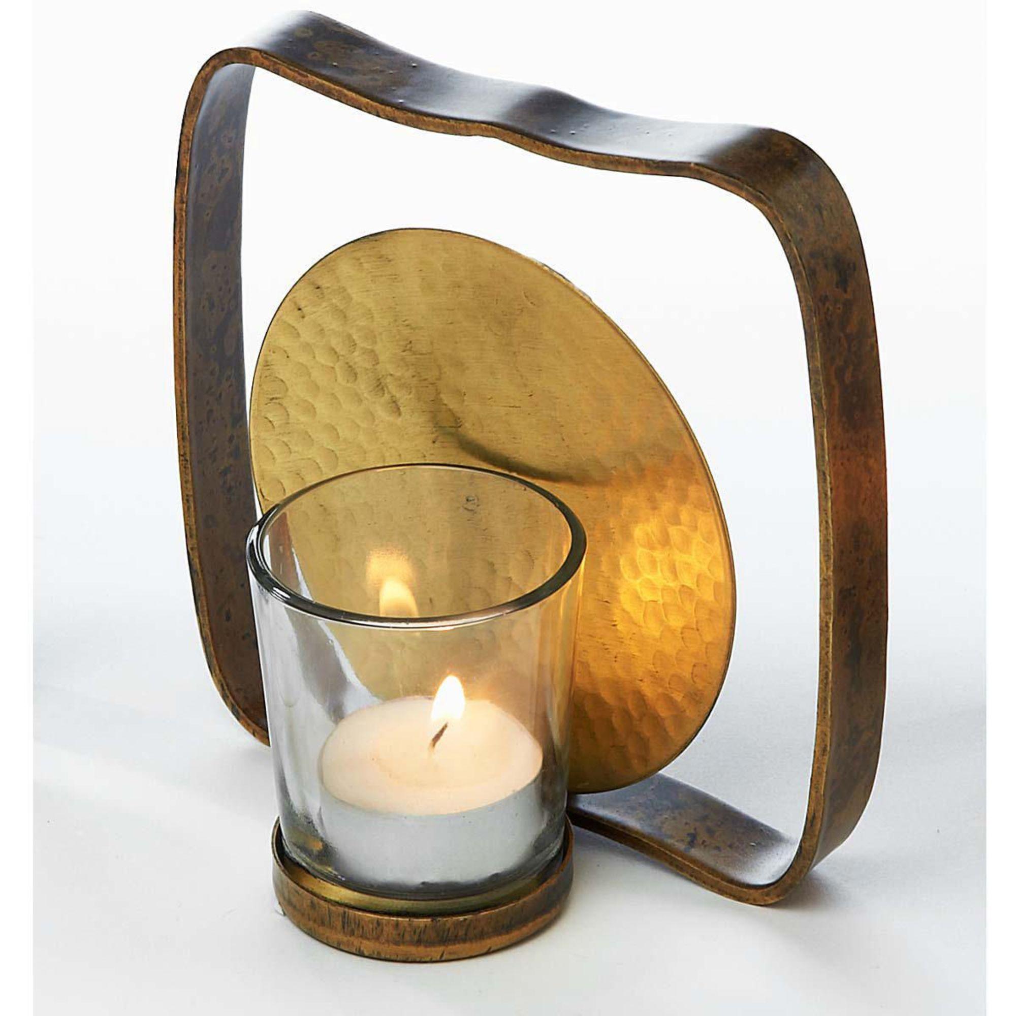 """Wandteelichthalter """"Square"""", Metall, Glas"""