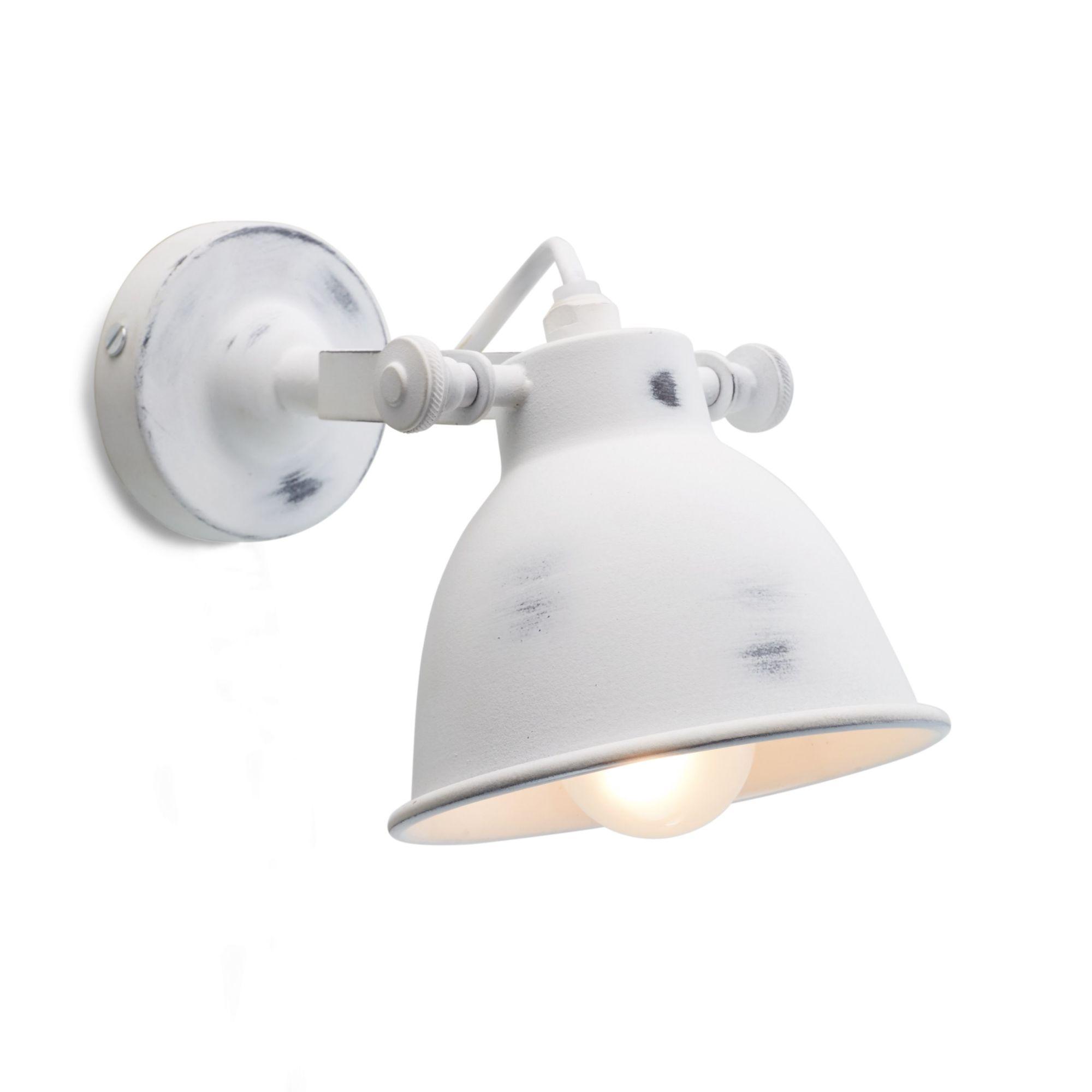 Wandleuchte Used Look Schirm Individuell Einstellbar . Wandlampe Für  Badezimmer ...
