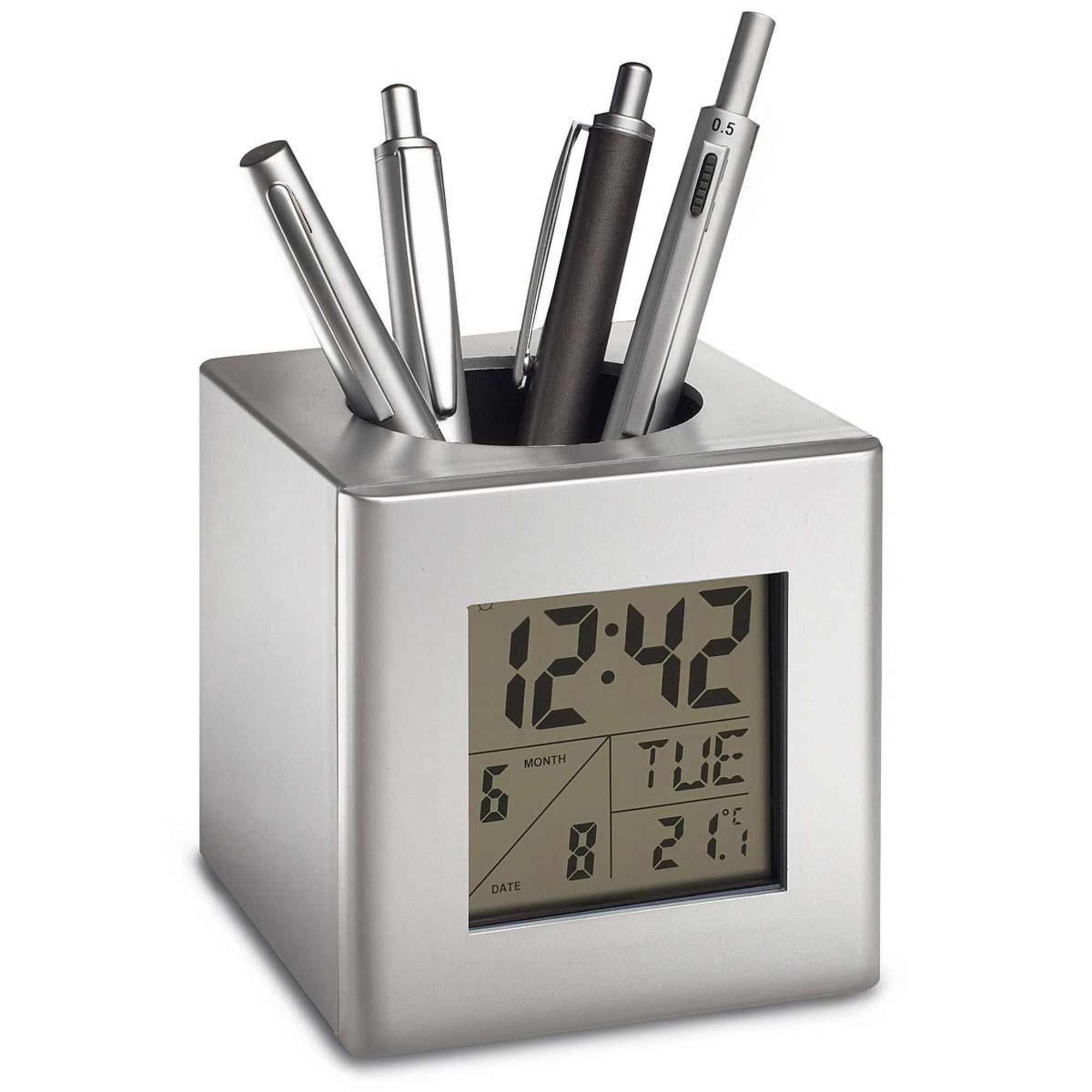 stifthalter-mit-uhr-sesimbra Elegantes Uhr Mit Temperaturanzeige Dekorationen