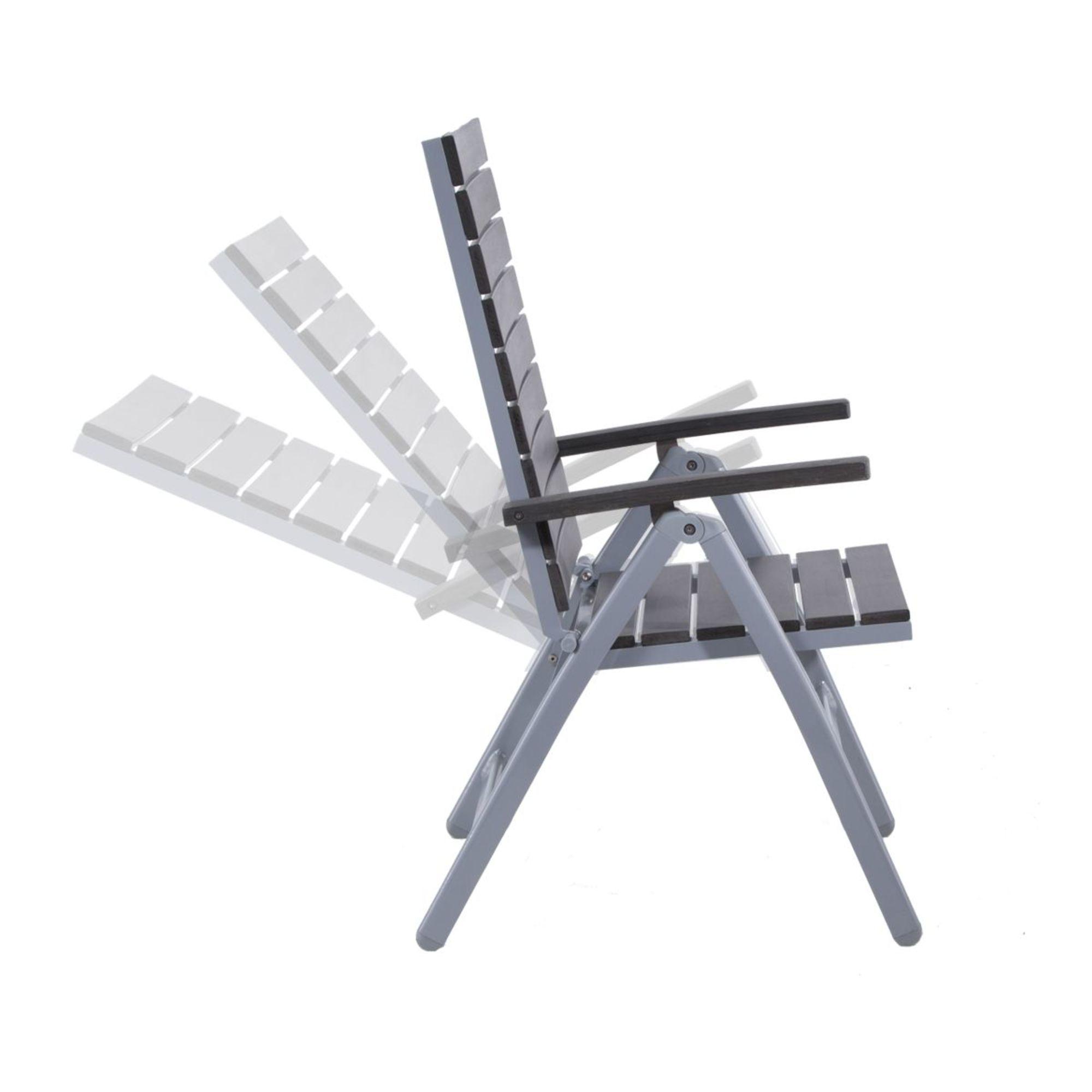 gartenmöbelset alura, aus aluminium,5-ltg., Garten und Bauen
