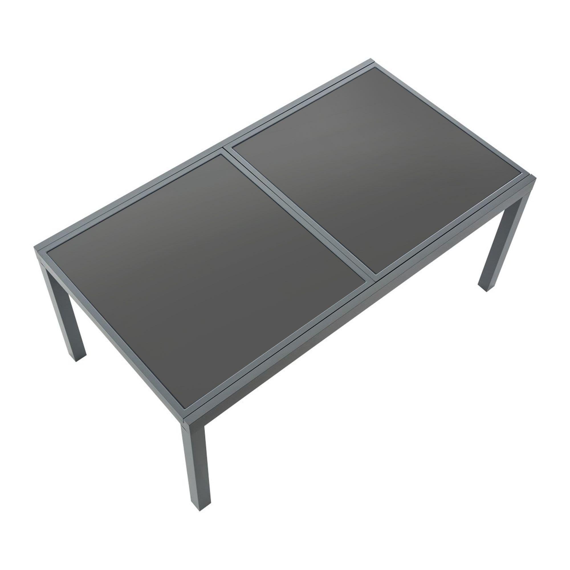 Gartentisch ausziehbar kunststoff  Kunststoff Gartentisch. Good Allibert Gartentisch L X B X H Cm ...