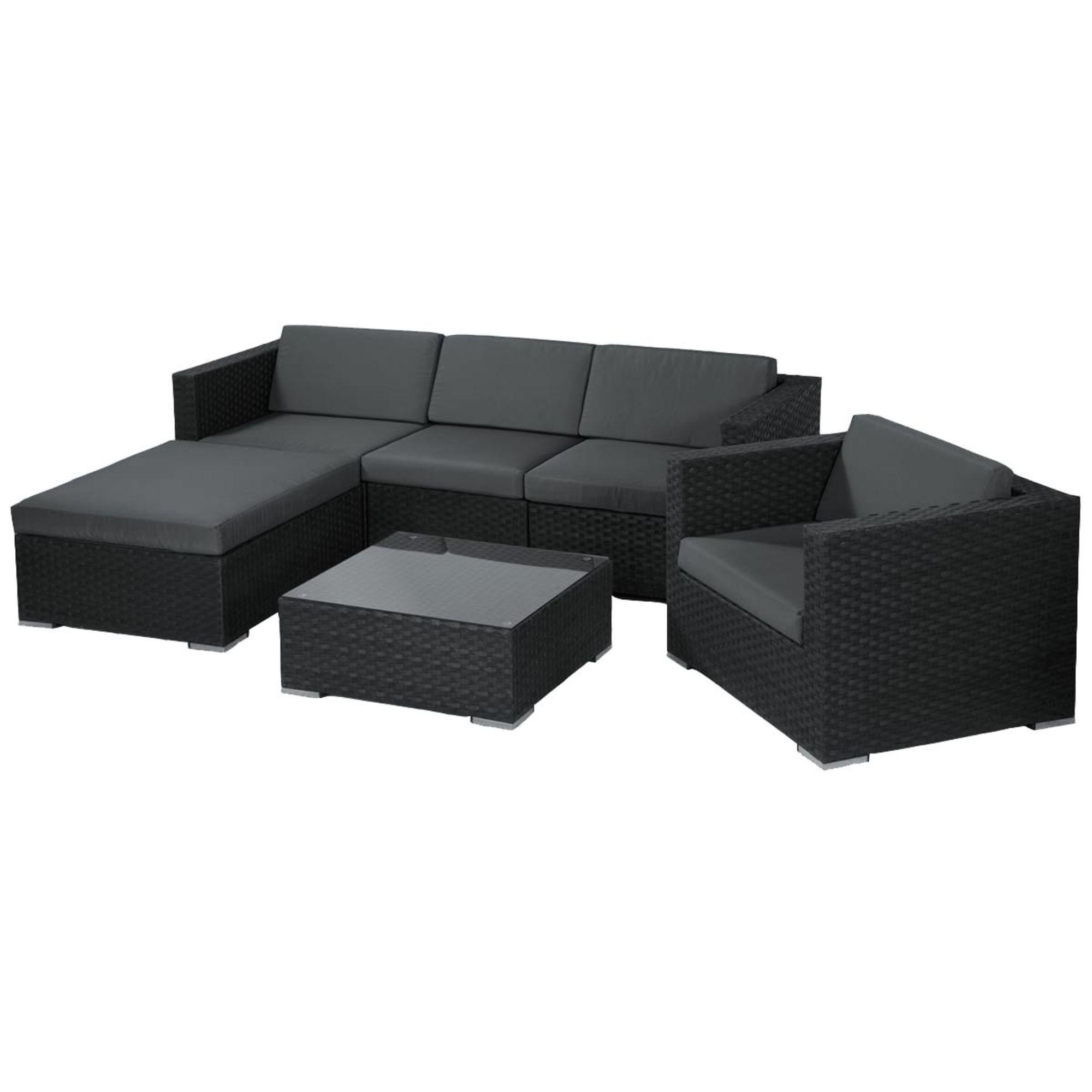 Gartenmöbel-Set, 6-tlg. Jovi