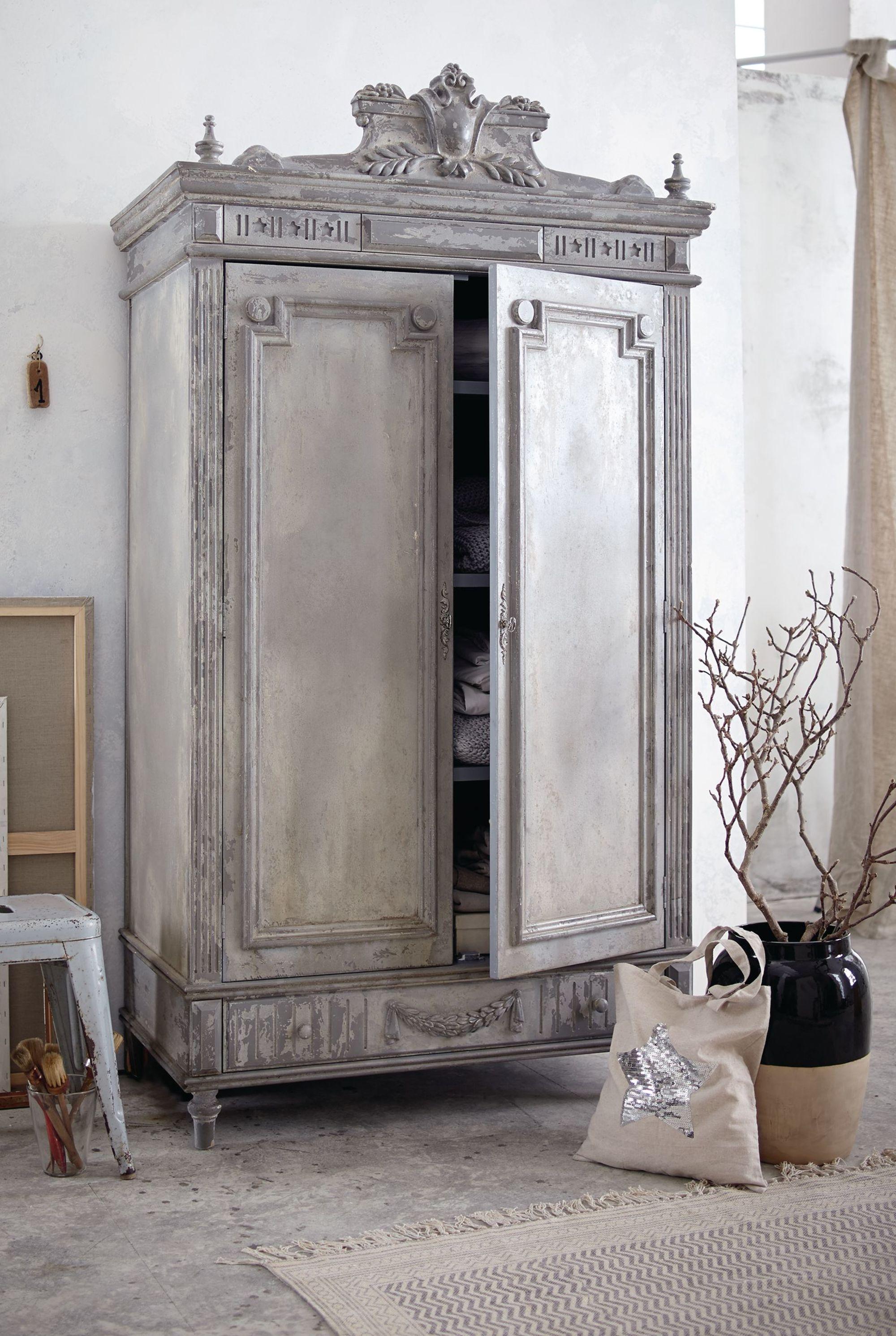 Kleiderschrank, Antik-Look