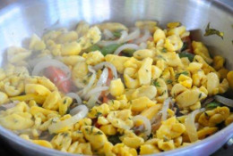 Ackee and salt fish, Jamaica's national dish