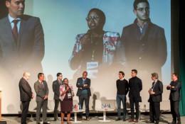 La soirée a également été l'occasion de la remise du Prix The Seed Project/HEC/OCP décerné cette année, à la start-up kenyane ACRE Africa. © DR