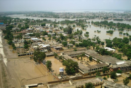 Inondations au Pakistan, en 2010 © CGIAR/Challenge food and water programme, Author provided