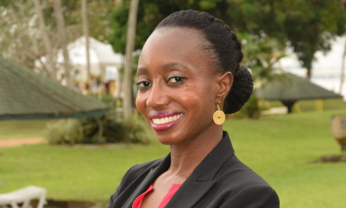 Fayelle Ouane, managing director of the SUGUBA platform which partnered CTA's Pitch AgriHack Competition 2018, has placed women at the heart of sustainable agribusiness © Cadel Musala
