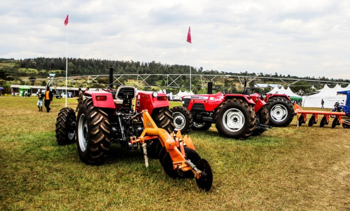 Affordable tractors improved food security in Nigeria © Mugisha Don de Dieu/Flickr