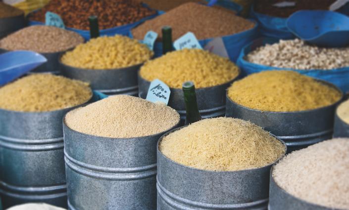 28 nouvelles variétés de riz ont été introduites pour surmonter les problèmes liés au climat dans les écosystèmes rizicoles © C Rose