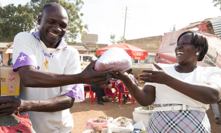 Women account for 80% of informal traders in East Africa © TradeMark East Africa