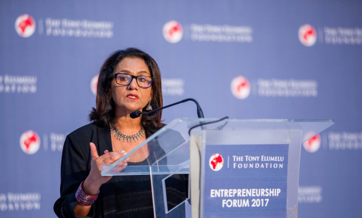 As CEO of Africa's leading philanthropic organisation, Parminder Vir, oversees the strategic development and implementation of its key programmes © Tony Elumelu Foundation