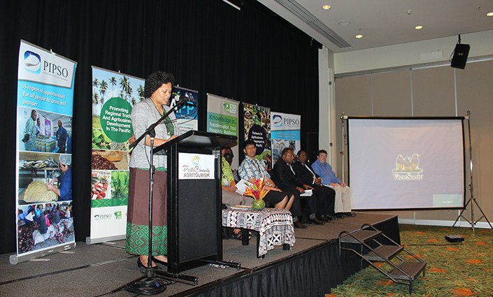 Mereia Volavola, Chief Executive Officer of the Pacific Island Private Sector Organisation