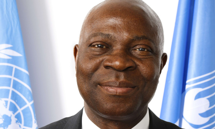 Gilbert F. Houngbo, the new president of IFAD, outlines his positive perspective on rural transformation © IFAD