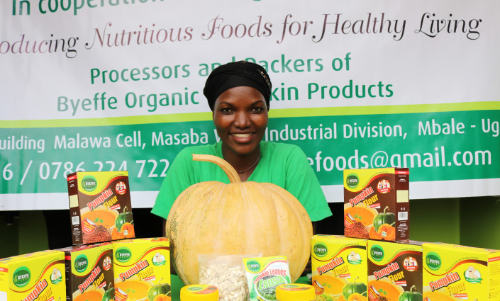 Byeffe Foods Company is supplying nutritious pumpkin products to schools, hospitals and supermarkets across Uganda © HetepRakhepr Seker Ulerie