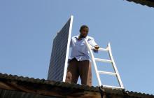 Over 14,000 people are using solar panels in Kenya and Uganda © PRI