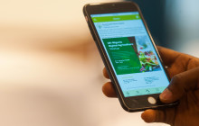 In Nigeria, a mobile app developed by agri-tech company Farmcrowdy is helping to link rural smallholders with inner-city agricultural investors © Farmcrowdy