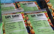 Safi Sarvi® increases crop yields by 30% and is half the price of conventional fertilisers © Safi Organics
